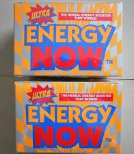 2 BOXES lot of ULTRA ENERGY NOW, EACH BOX has 24 Pks x 3's x 2 boxes = 144 tabs