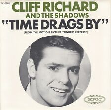 """Cliff Richard & Shadows """"Time Drags By"""" 1966  Epic 10101  PROMO  Record & PS  NM"""