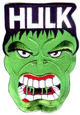 The Incredible Hulk - Superhero - Comics - Cartoon - Iron On Patch W/ HULK Text