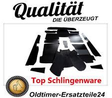 Teppichsatz scwarz - Teppich Schlinge  für Mercedes W108 Schaltwagen