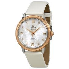 Omega De Ville Prestige Mother of Pearl Butterfly Dial Ladies Watch 424.22.33.20