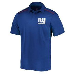 NWT Mens Majestic New York Giants Formation Polo Shirt XL Kadarius Toney Not Hat