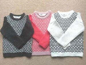 UK Seller H&M Baby Toddler Boys Jumper Knitwear Kids Age 1-7 Years