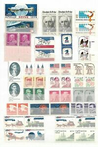 USA ( UNITED STATES OF AMERICA  )  - MNH - LOT OF PAIRS OF MNH STAMPS