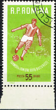 Romania Football Soccer Championship stamp 1962