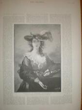 Print artist Madame Vigee-Lebrun 1894