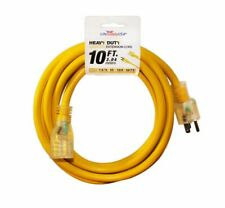 20 Case 12/3 10ft 300V SJTW LIGHTED Extension Cord 15 AMP In / Outdoor (10 feet)