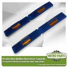 Retro Blu Protettivo Riflettente Porta Protezione per Toyota. Edge Chip Covers