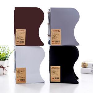 Adjustable Bookshelf Iron Desktop Storage Rack Office Desk Home Metal Frame Tool