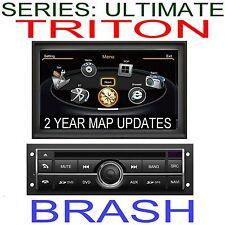 MITSUBISHI TRITON MN GLX-R 2009-2014 GPS DVD NAVIGATION STEREO HEAD UNIT AM/FM
