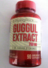 Guggul Extract 750 Mg 90 Capsules 2.5% Guggulsterones Arthritis Cholesteral Aid