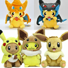 Pokemon Go Plush Soft Toys Pikachu Eevee Cosplay Anime Stuffed Doll Gift