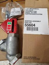 "Ansul Part # 55604 1 1/4"" Mechanical Gas Valve Assembly"