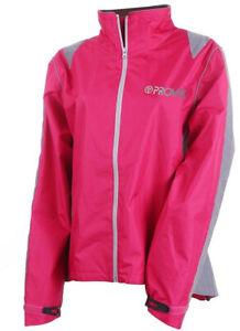 Proviz Nightrider Hi Visibility Women's Cycling Jacket Pink Size UK 12 Hi Viz