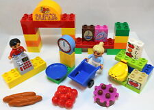 Lego Duplo Set 6137 My First Supermarket Grocery Store, Figures, Food
