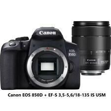 Macchina Fotografica Reflex Canon EOS 850D + EF-S 3,5-5,6/18-135 IS USM 24,1 MP