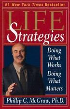 LIFE STRATEGIES Phil McGraw FREE SHIPPING paperback book Dr. Phil fix your life!