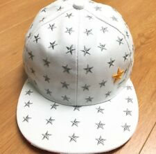 Embroidered Star Flat Bill Snap Back Cap NWOT
