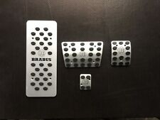 Pedals  set for Mercedes Brabus ml w163 steel pads