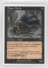 2001 Magic: The Gathering - Core Set: 7th Edition #155 Plague Beetle Card 1g9