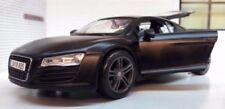 Coches, camiones y furgonetas de automodelismo y aeromodelismo de plástico de color principal negro Audi