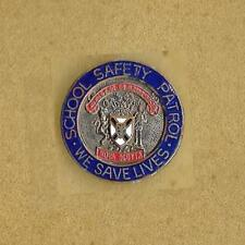 NOVA SCOTIA CANADA SCHOOL SAFETY PATROL WE SAVE LIVES VERY OLD LAPEL PIN