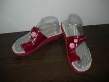 CAMPER TWINS WOMEN'S Sandali Toe Anello Rosso Bordeaux in Pelle 39 EU/UK 6 Slim Fit