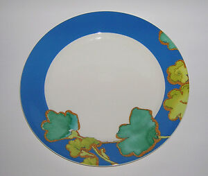 Lenox FLORAL FUSION BLUE Dinner Plate NEW