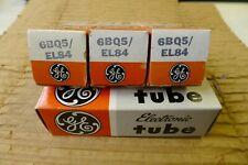 4Pcs.  NOS GE EL84 / 6BQ5  Matched Quad
