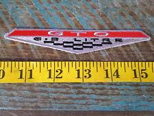 NEW PONTIAC GTO RACING PATCH 1964 65 66 67 68 69 70 71 72 73 74 JUDGE TRI POWER