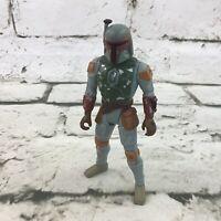 Vintage 1996 Star Wars Power Of The Force Boba Fett Action Figure Kenner LFL