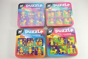 PULI Magnet Puzzle in Metalldose 53 65 42 75 Teile