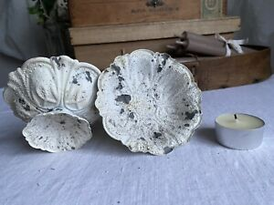 Candle Holder Vintage Style Candleholder Rustic Table Home Decor, Shabby Chic