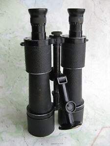 WWI Zeiss DF 10x50 German Officer Binoculars with Zeiss Tripod Adaptor