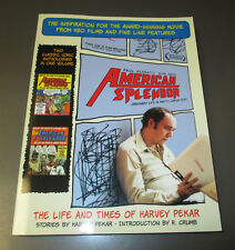 2003 American Splendor Life Times of Harvey Pekar SC 1st VF+ Ballantine