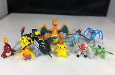 Pokemon Advanced 2003 Hasbro figure Lot Pikachu Charizard & More 12 Piece Lot