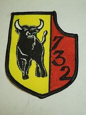 US Military 732 Bull Squadron Insignia Sewing Patch