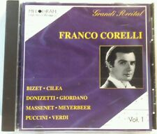 Franco Corelli:  Grande Recital (Melodram, 1986) (cd6541)