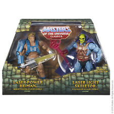 Masters of the Universe Club Eternia Laser Power He-Man & Laser Light Skeletor