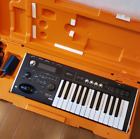 KORG microX Keyboard Synthesizer 25-Key Black Tested From Japan