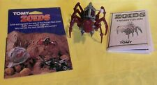 Tarantulon vintage 1986 Tomy red Zoid with instructions