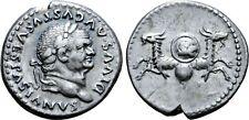 Divus Vespasian AR Denarius.