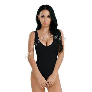 Sexy Women's Mesh Bodysuit Teddy Lingerie See-through High Cut Leotard Swimwear