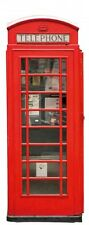 Wallario XXL Poster 80 x 200 cm - London Rote Telefonzelle Bus Big Ben England