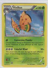 Vivillon (High Plains) . XY Base Set . 17/146 . Pokemon TCG . LP . Rare Holo