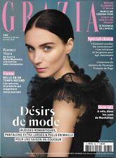 GRAZIA n°462 28/09/2018  Rooney Mara/ Désirs de mode/ Spécial climat/ Slow life
