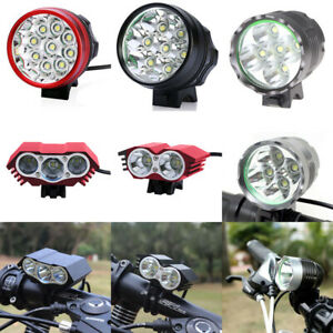 LED Bike Front Light Road Bycicle Headlamp Bike Headlight Lamp 9/7/5/4/3/2/1x T6