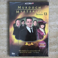 Murdoch Mysteries Complete Season 13 (DVD, 4-Disc) Fast Shipping New & Sealed US