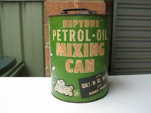 Neptune Petrol Oil Mixing Can