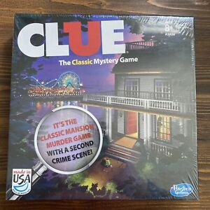 CLUE: The Classic Mystery Game Mansion & Boardwalk-- NEW SEALED